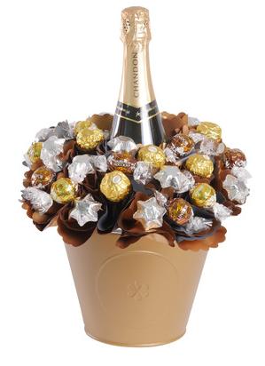 Luxury Chandon Chocolate Bouquet