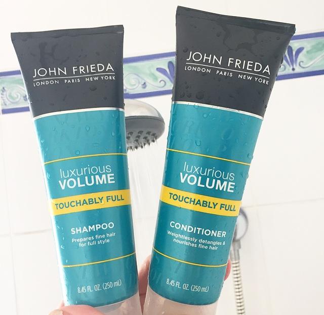 John Frieda Luxurious Volume Touchably Full Shampoo & Conditioner
