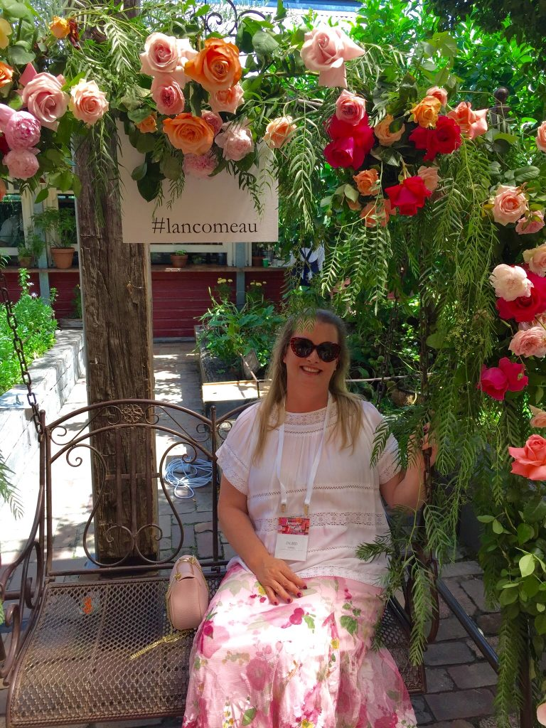 Lancome Floral Swing at the L'Oreal Australia Event
