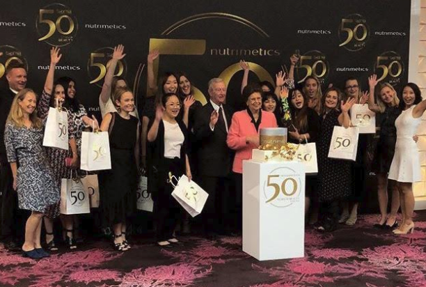 Nutrimetics 50th Anniversary Media Event