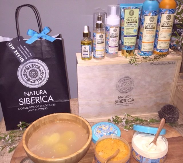 Some of Natura Siberica's 26 Products Released in Australia