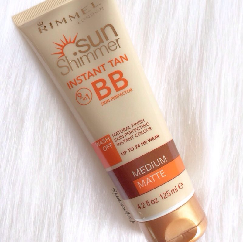 Rimmel Sun Shimmer Instant Tan 9 in 1 BB SKin Perfector
