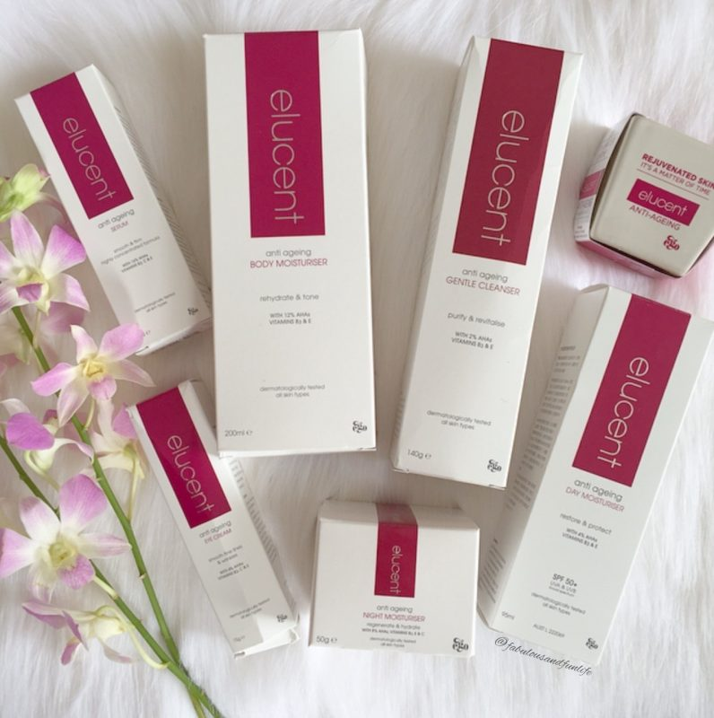 Elucent Anti Ageing Skin Care Range