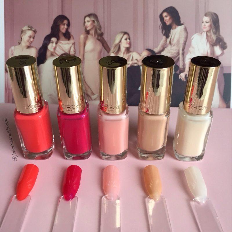L'Oreal Paris Colour Riche la vie en roseCollectionNail Polishes