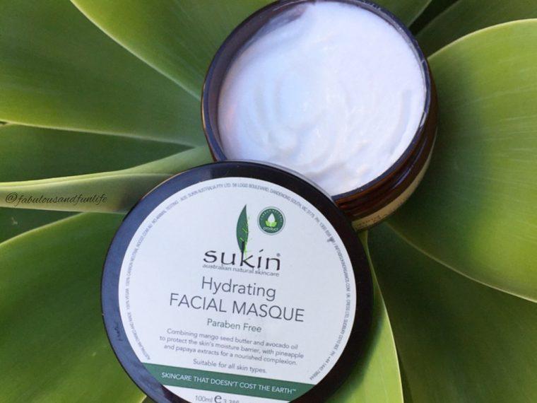 Sukin Facial Masque