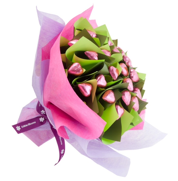 Edible Blooms - With Love Flower Posy