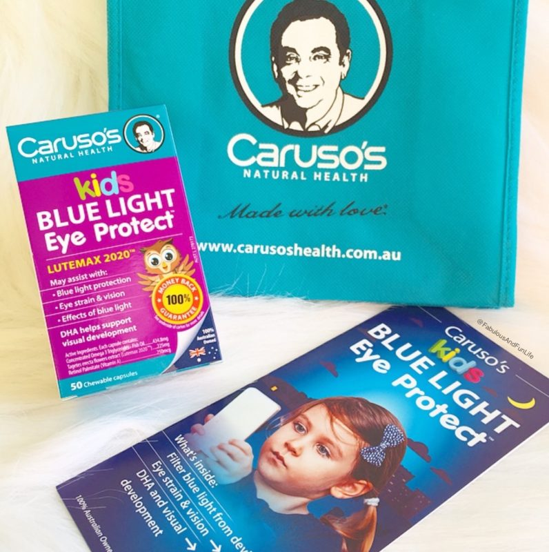 Caruso's Kids Blue Light Eye Protect