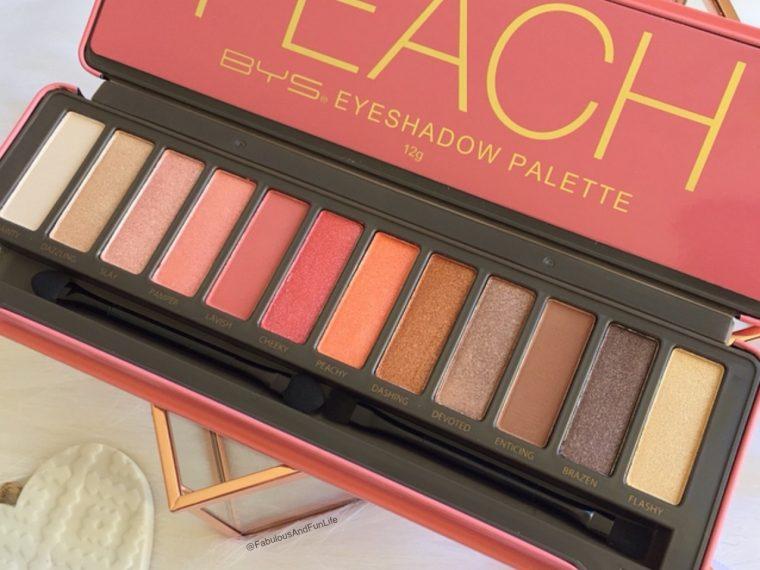 BYS Cosmetics Peach Palette