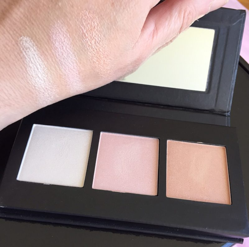 Barry M Illuminating Highlighter Palette & Swatches