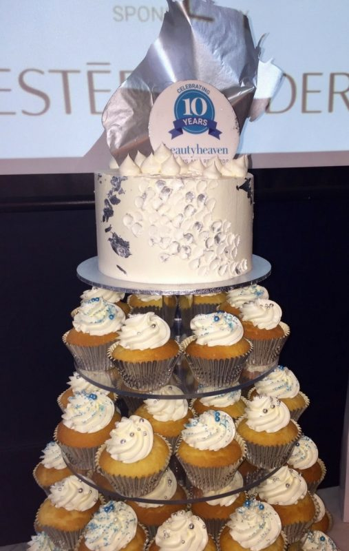 BeautyHeaven 10th Birthday Celebration Cake