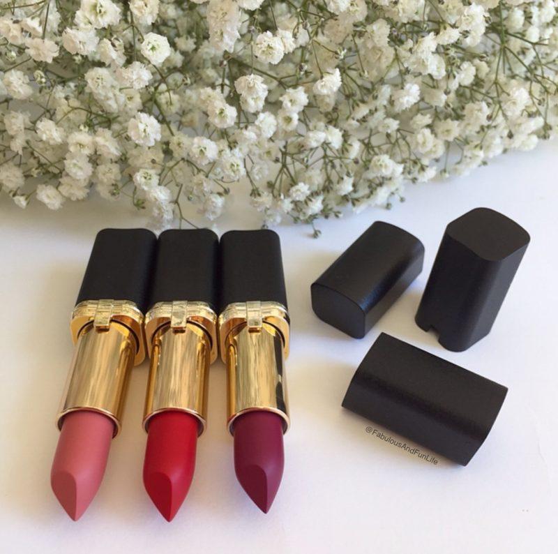 L'Oreal Paris Colour Riche Matte Addiction Lipsticks