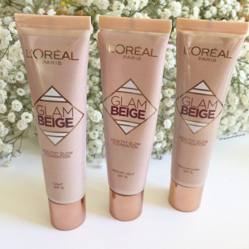 L'Oreal Paris Glam Beige Healthy Glow Foundations