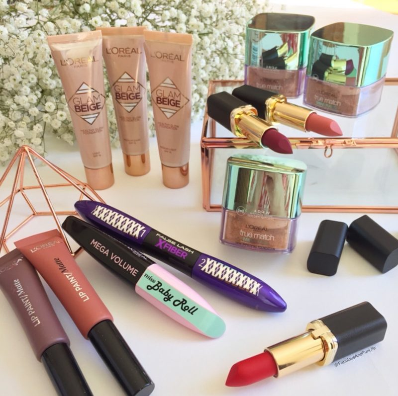 L'Oreal Paris New Release Makeup Products