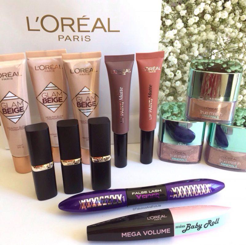 L'Oreal Paris New Release Makeup