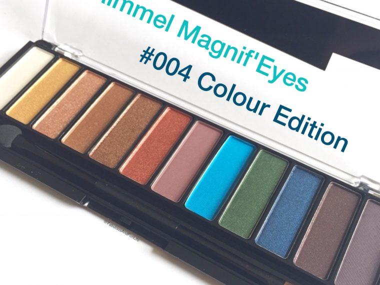 Rimmel London Magnif'Eyes Eye Contouring Palette #004 Colour Edition