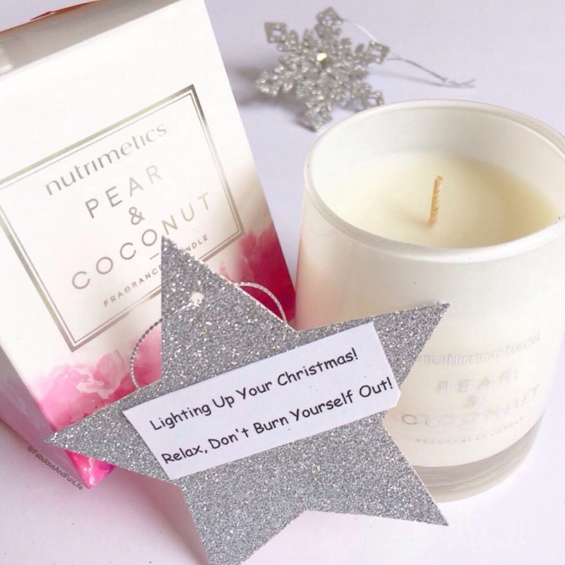utrimetics Pear & Coconut Candle Lighting Up Your Christmas! Relax, Don't Burn Yourself Out!