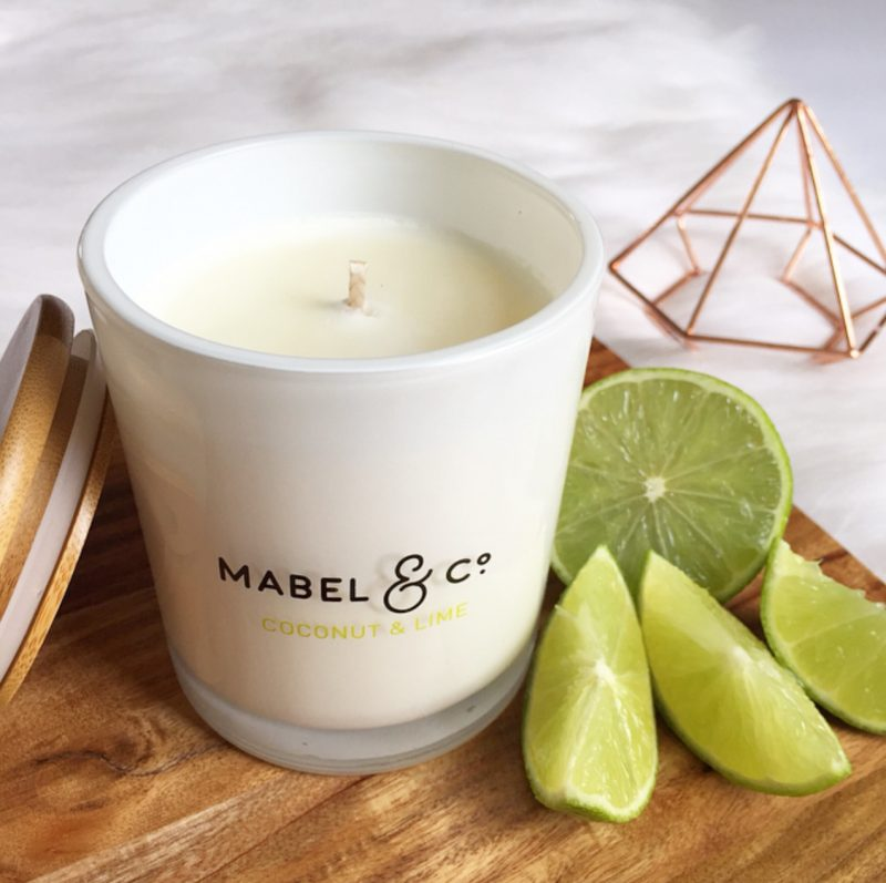 Mabel & Co. Coconut & Lime Candle
