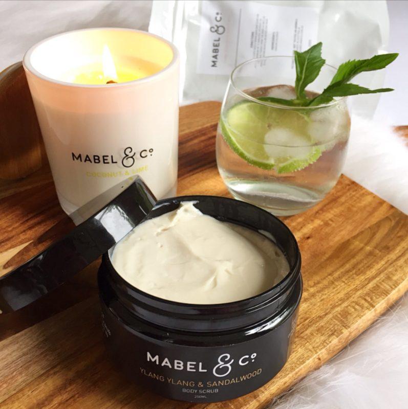 Mabel & Co. Ylang Ylang & Sandalwood Body Scrub