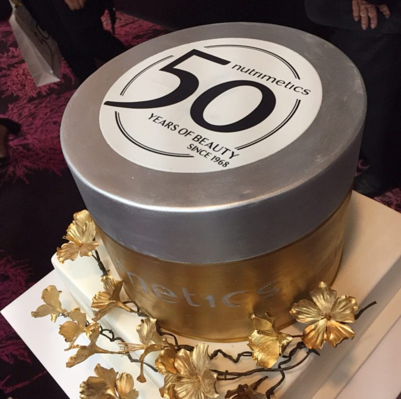 Nutrimetics 50th Anniversary Cake
