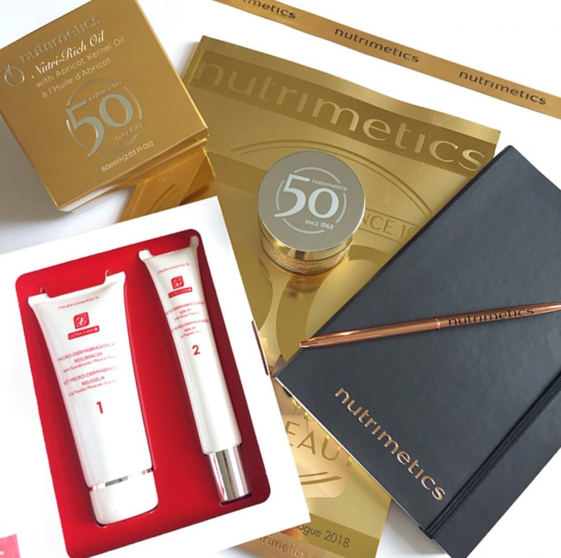 Nutrimtics 50th Anniversary Goodie Bag Contents