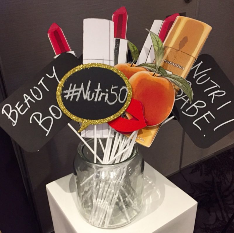 Nutrimetics 50th Anniversary Photo Wall Props
