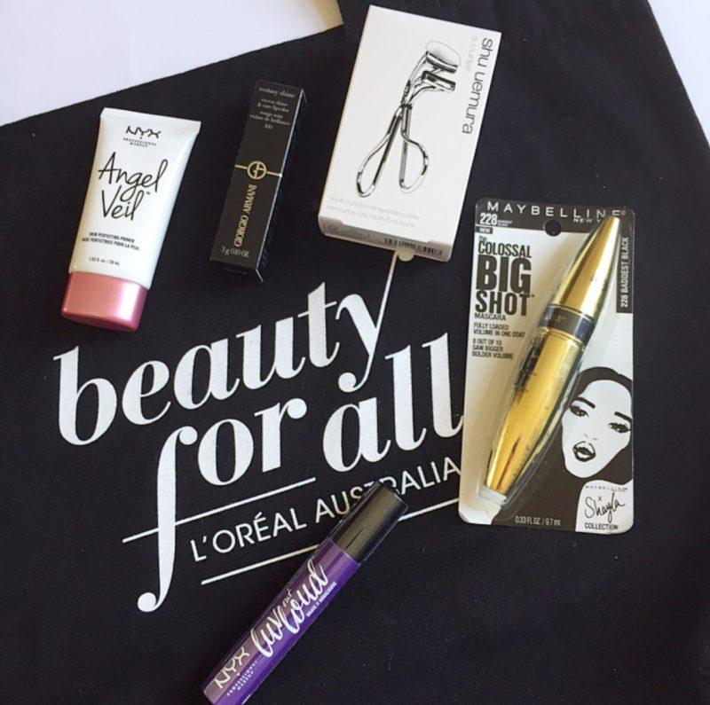 NYX Cosmetics, Giorgio Armani, shu uemura & Maybelline Makeup Products