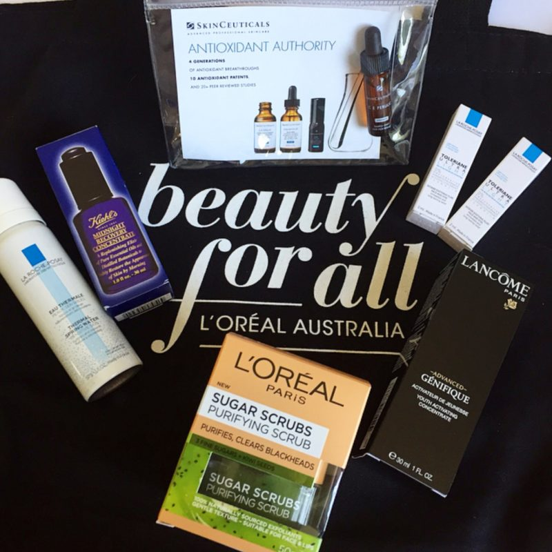 La Roche-Posay, Kiehl's, SkinCeuticals, Lancome & L'Oreal Paris Skin Care Products