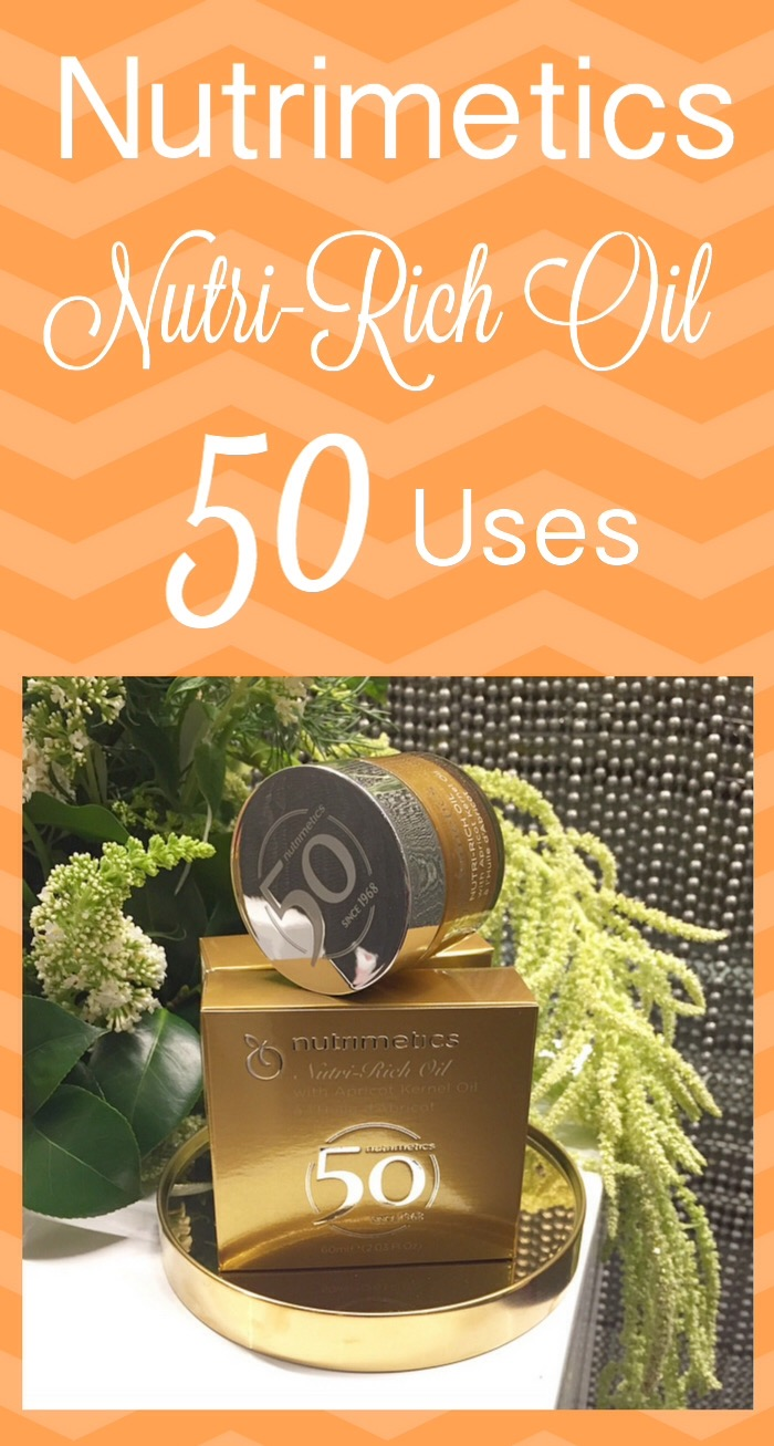 50 Uses For Nutrimetics Nutri-Rich Oil