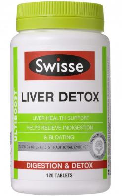 Swisse Liver Detox Vitamins
