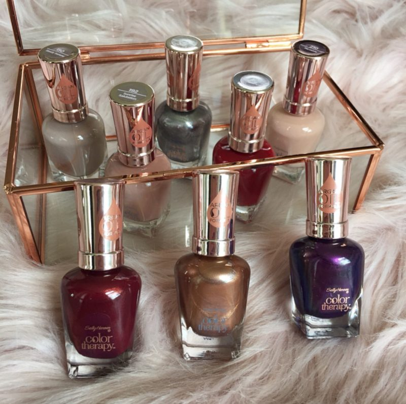 Sally Hansen Color Therapy Nail Polishes