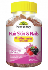 hair skin nails formula gummies