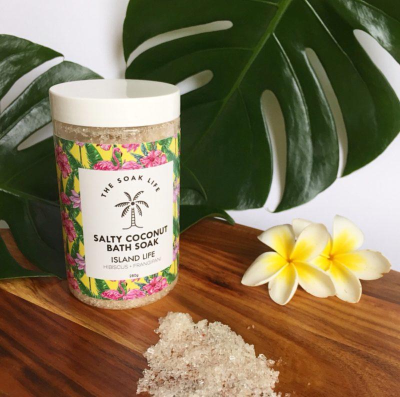 The Soak Life Salty Coconut Bath Soak