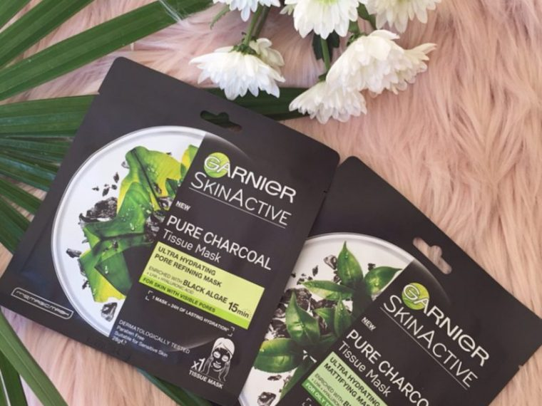 Garnier Skin Active Pure Charcoal Tissue Masks