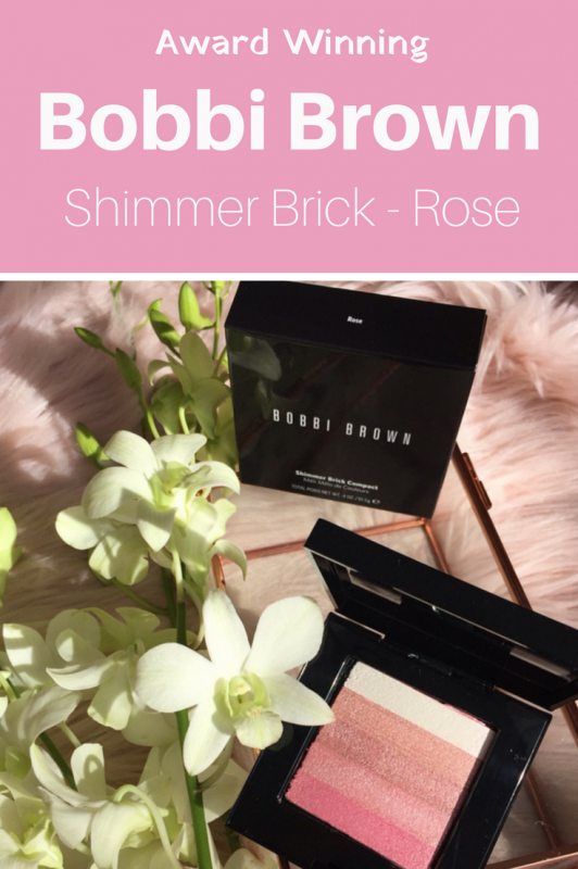 Bobbi Brown Shimmer Brick Rose Review