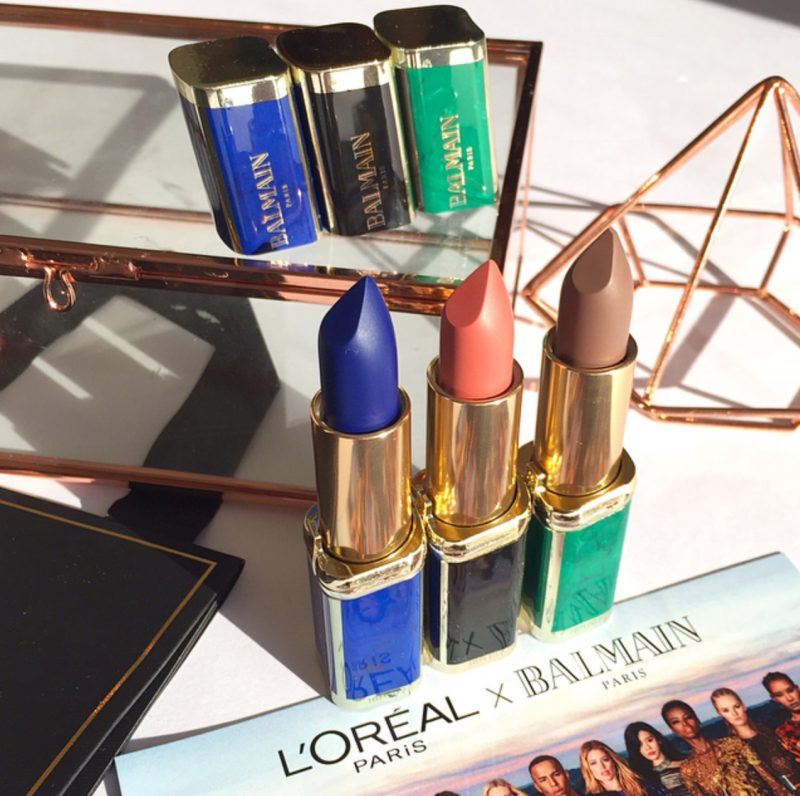 L'Oreal Paris x Balmain Paris Colour Riche Lipsticks
