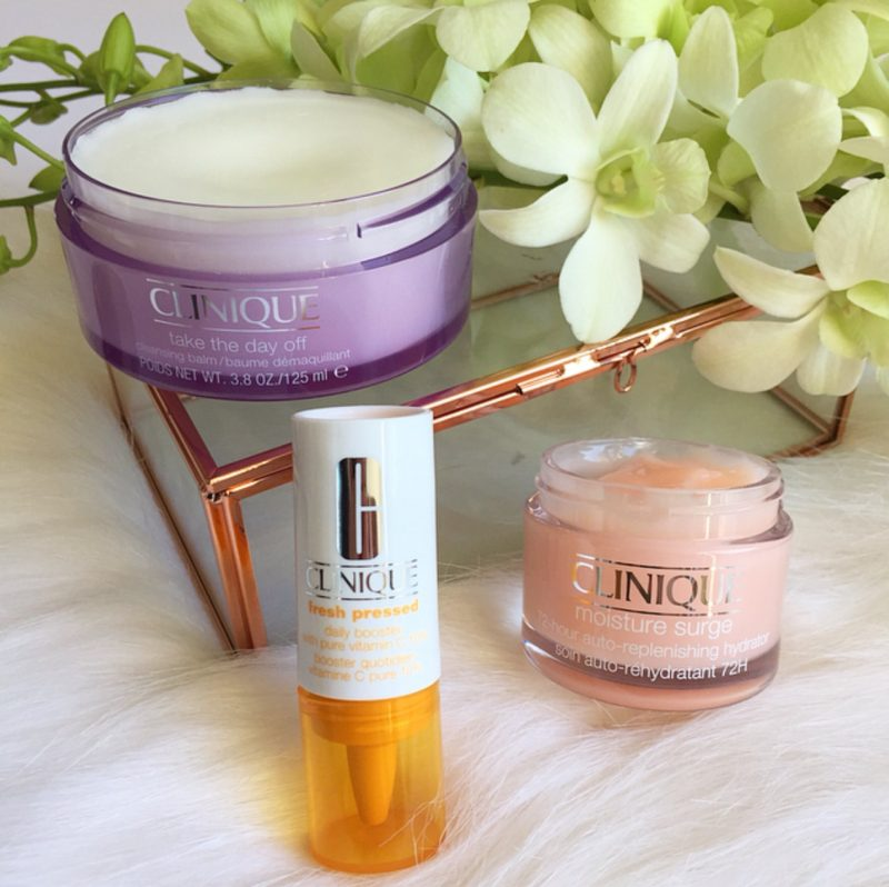 Clinique Winter skincare products