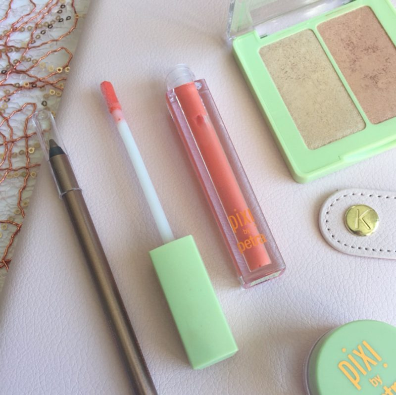 Pixi LipLift Max in Sweet Nectar & Pixi Endless Silky Eye Pen in Rose Glow