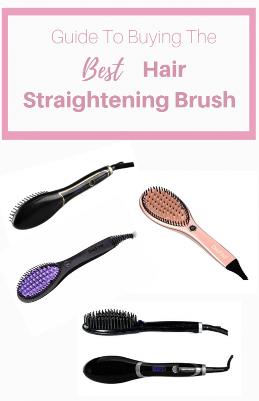 best hair straightening brush Australia