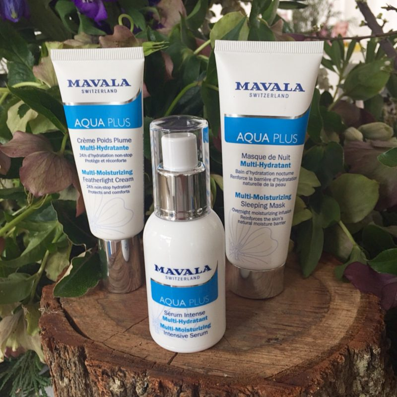 Mavala Aqua Plus Skincare Products