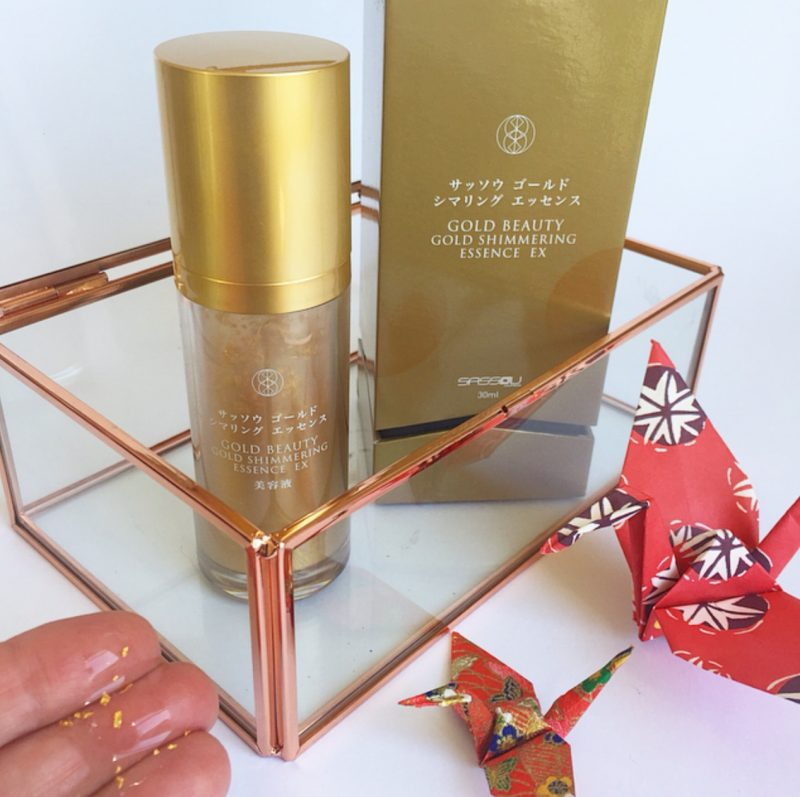 Gold Infused Skin Care - Sassou Gold Shimmering Essence EX