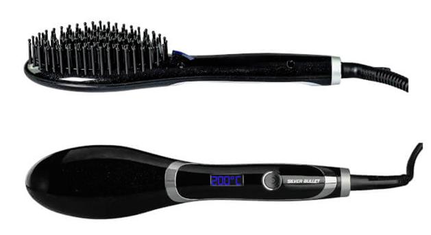 Silver Bullet Hybrid Straightening Brush Review