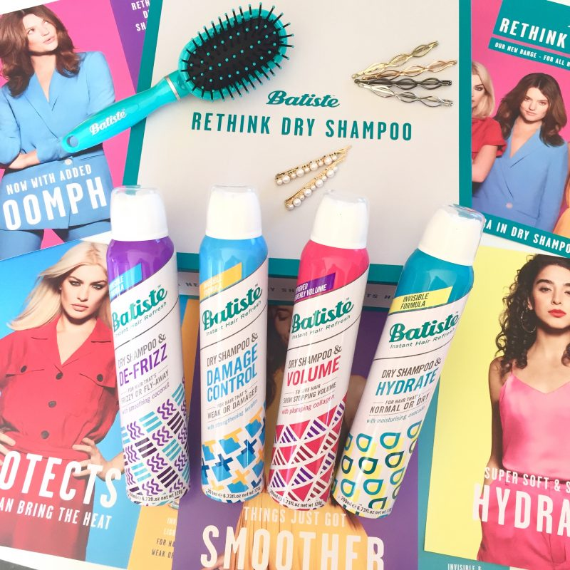 New Batiste Hair Benefits Dry Shampoo Range