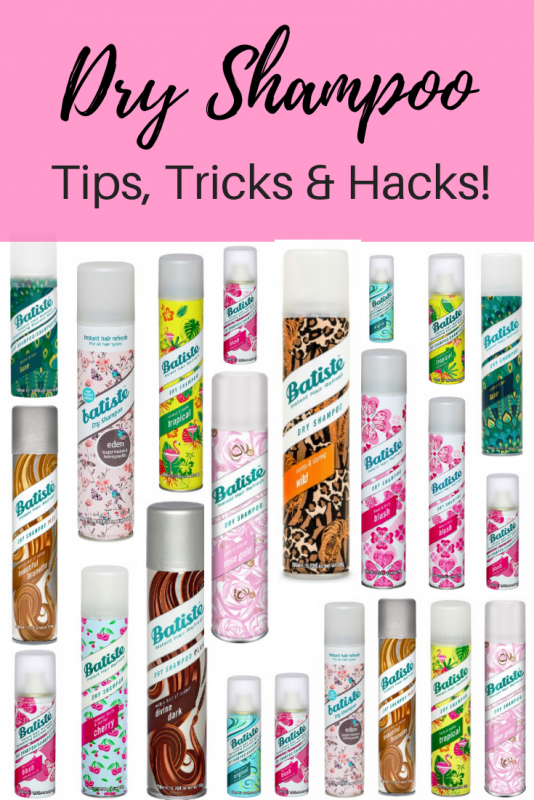 Dry Shampoo Tips and Tricks