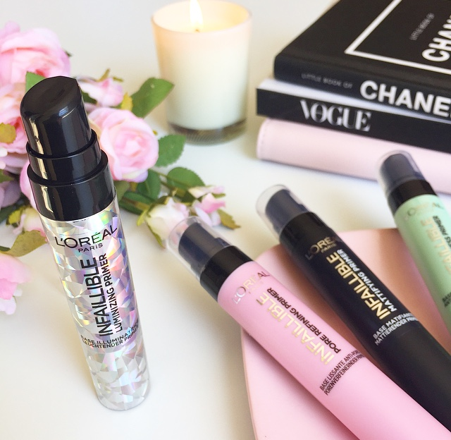 L'Oreal Infallible Luminizing Primer Review