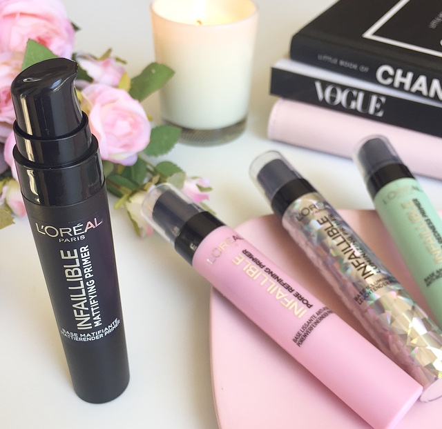 L'Oreal Infallible matte primer review