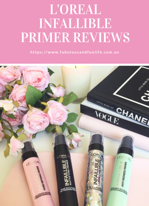 L'Oreal Primer Reviews Infallible