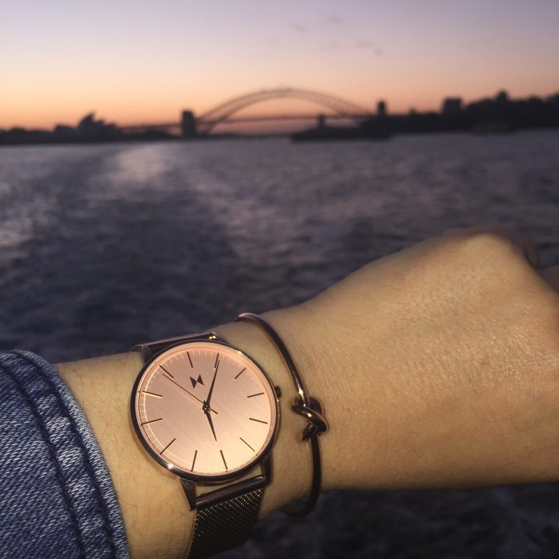 Rose Gold Watch Australia