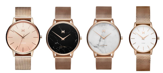 MVMT Rose Gold Watches