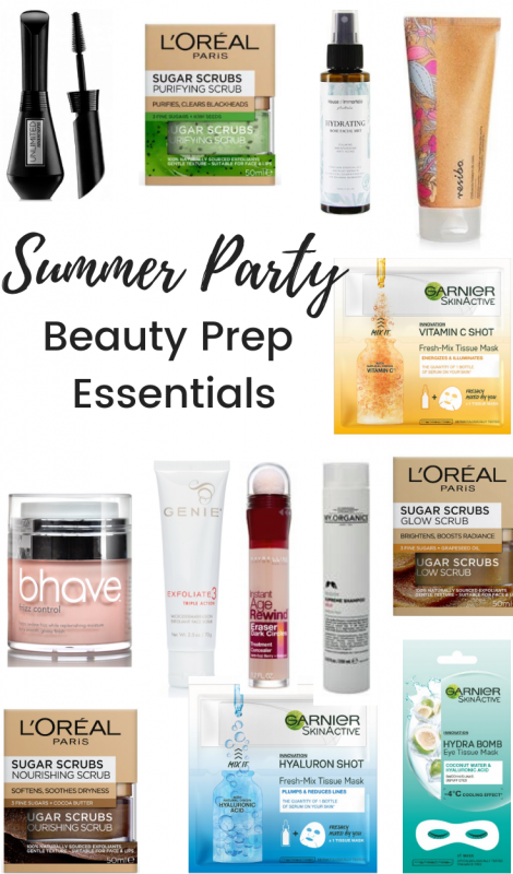 Summer Party Beauty Prep Essentials