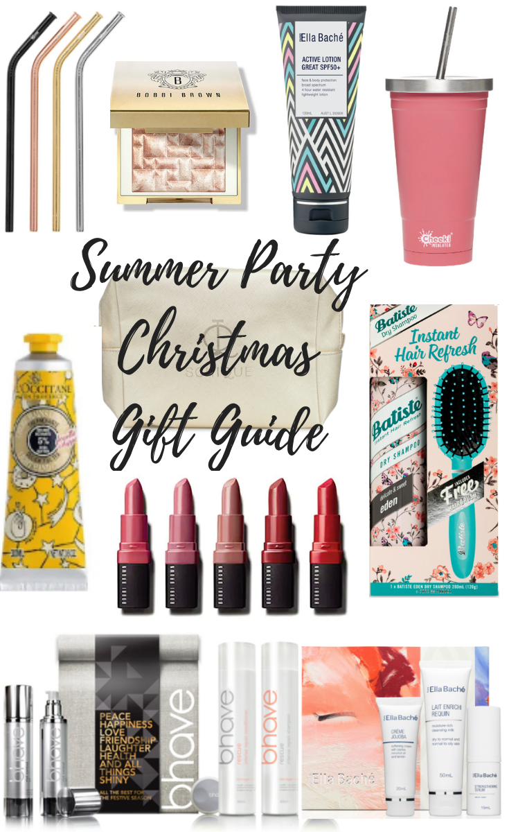 Summer Party Christmas Beauty Gift Guide